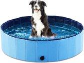 Opvouwbare hondenzwembad 80 x 20 cm - Honden | Katten | Zwembad huisdieren | Perfecte verkoeling