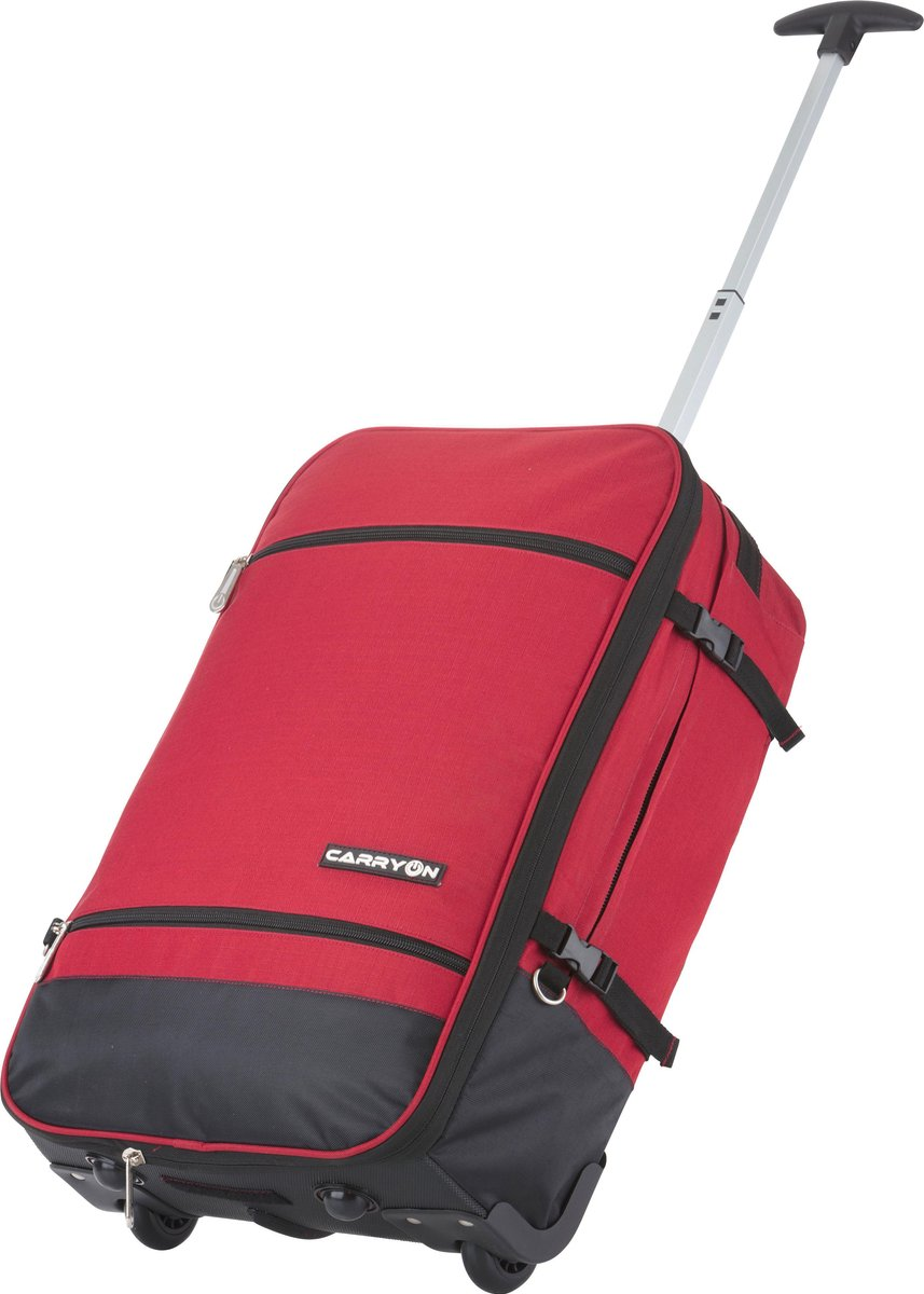 CarryOn Daily - rugzak trolley - 44 l - Rood