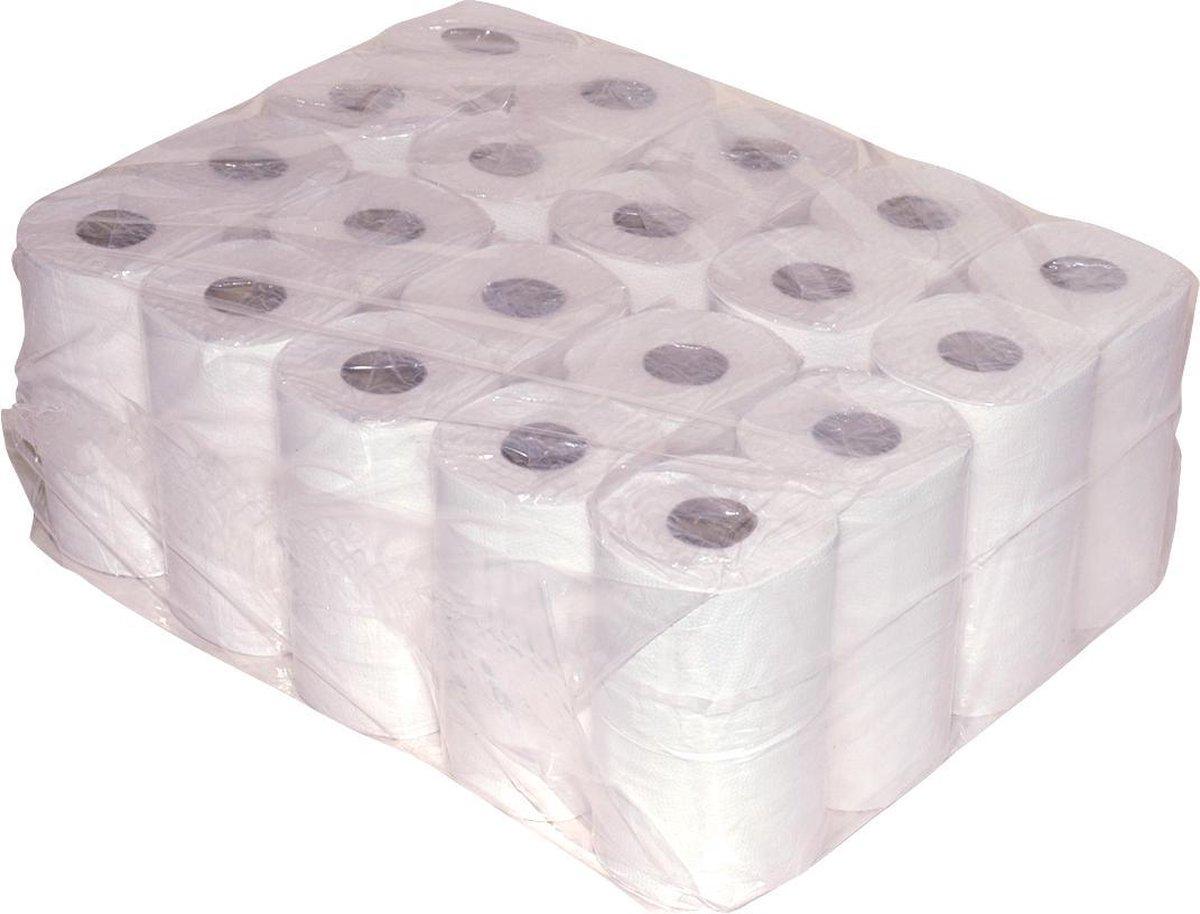 Traditioneel Toiletpapier - 40 rollen 2 laags 400 vellen - WC papier voordeelverpakking