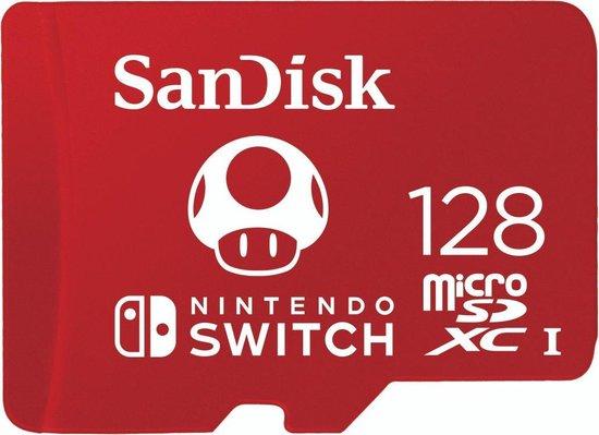 SanDisk Extreme Micro SDXC 128 GB voor Nintendo Switch
