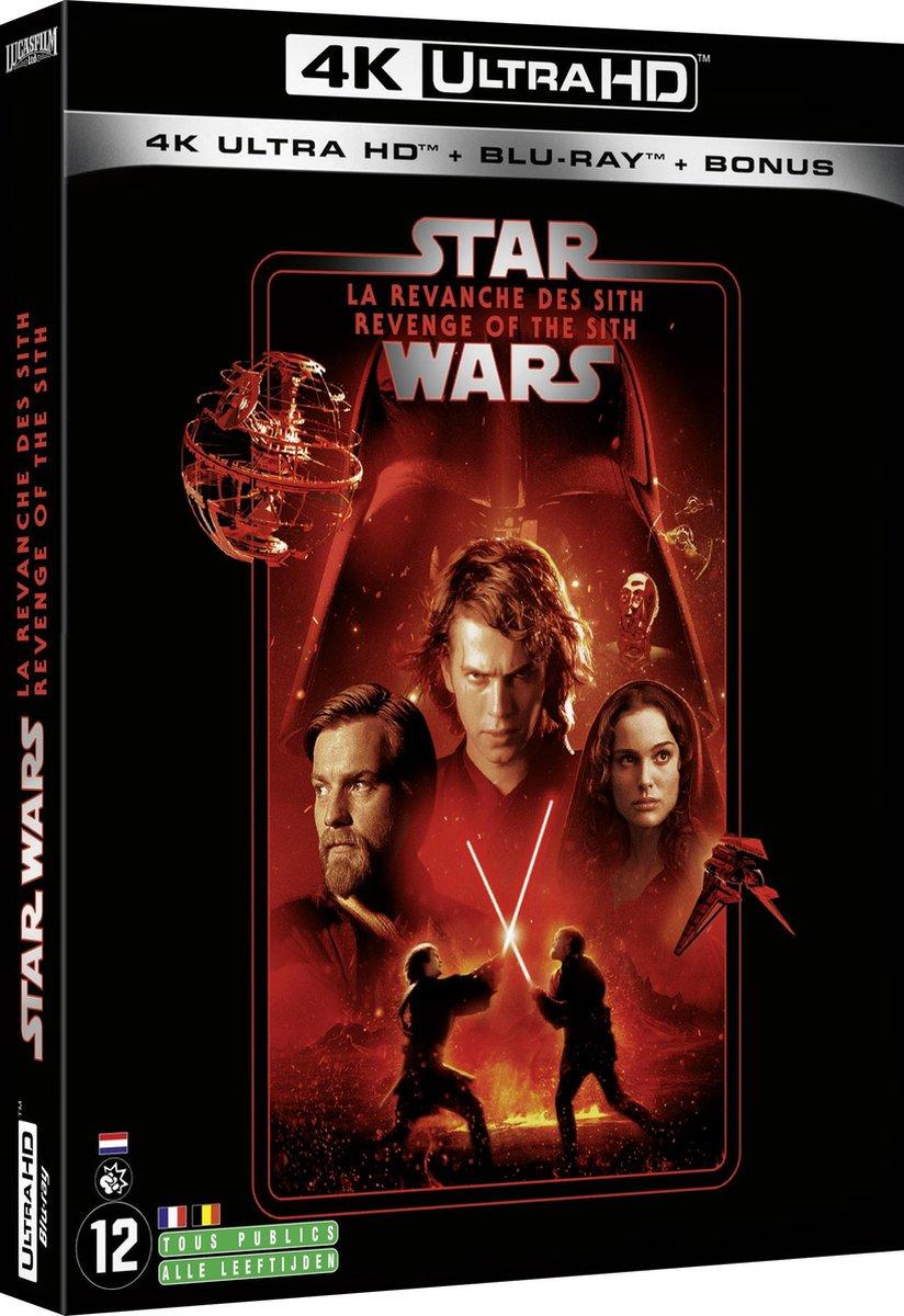 Star Wars Episode III: Revenge of the Sith (4K Ultra HD Blu-ray) (Import zonder NL)-