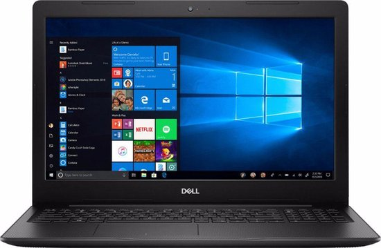 Dell Inspiron-15 3583 | 15.6″ HD Touchscreen | i3-8145U | 8GB DDR 4 | 128GB SSD | W10 Home
