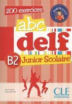 ABC DELF Junior Scolaire B2 livre+corrigés+transcriptions+DVD-rom