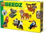 SES Strijkkralen - Jungle dieren - Verschillende kleuren