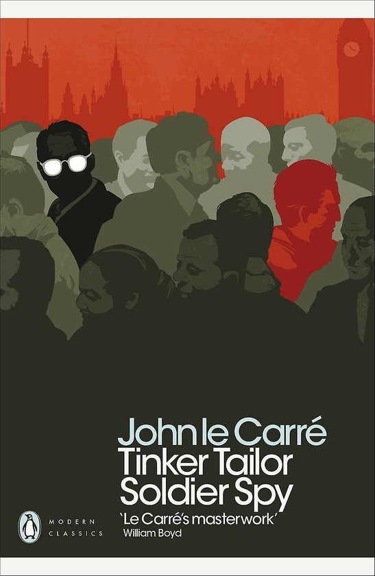 CD cover van Tinker Tailor Soldier Spy van John le Carré