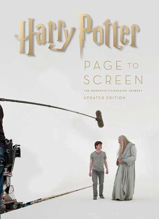 Boek cover Harry Potter Page to Screen: The Updated Edition van Bob Mccabe (Hardcover)