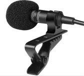 VoordeelShop Clip-On Smartphone Microfoon - Iphone - Android - Windowsphone - Laptop - PC - Dasspeld Mic - Stream Microfoon - Interview Microfoon - Pocket Microfoon