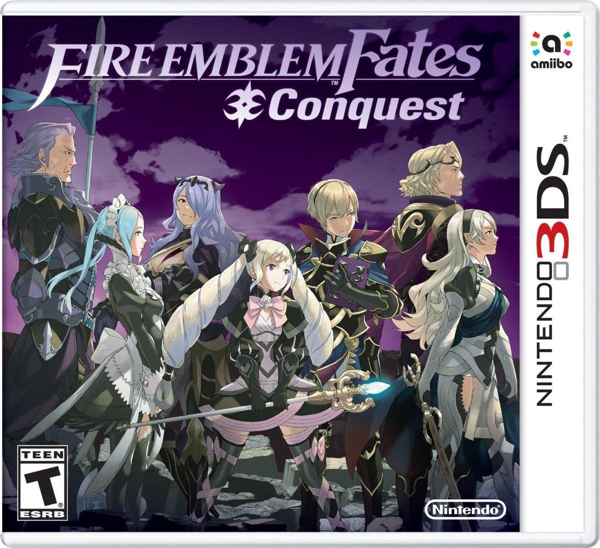 Fire Emblem Fates: Conquest - 2DS + 3DS - Nintendo