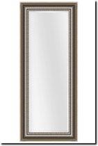 Spiegel Cesarino Antiekzilver Buitenmaat 75x167cm