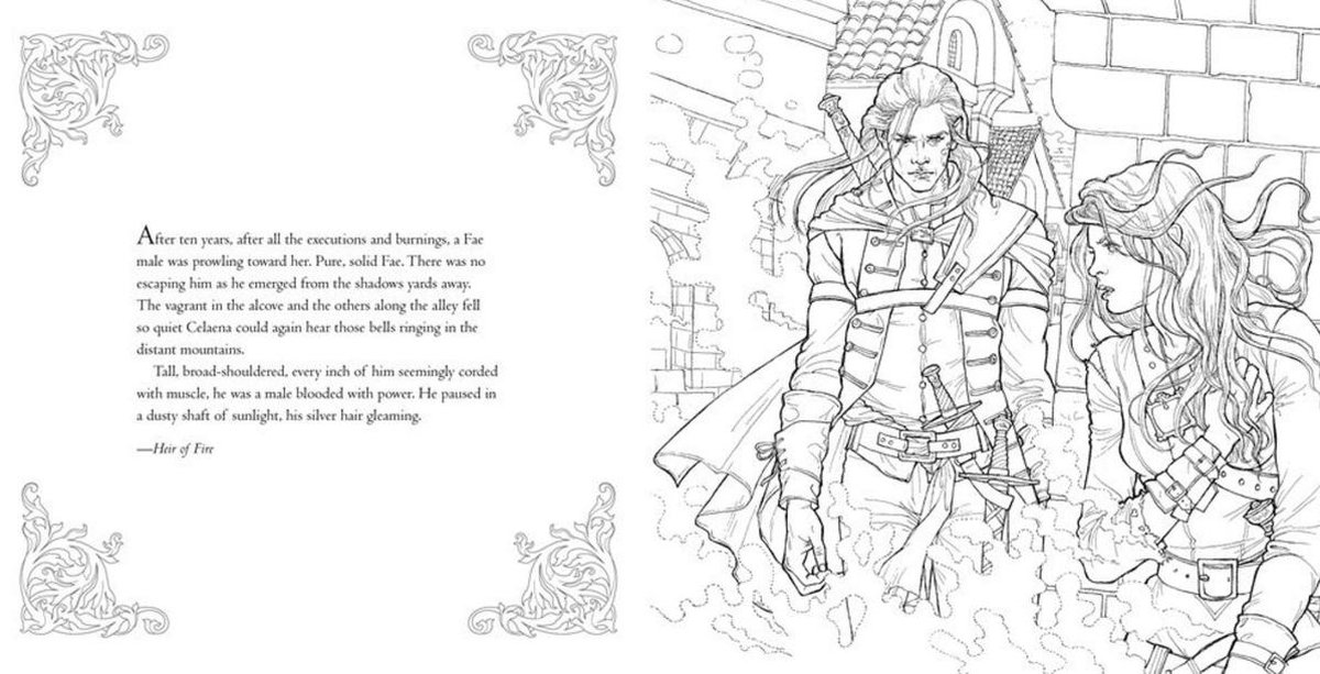The Throne of Glass Colouring Book - Sarah J. Maas