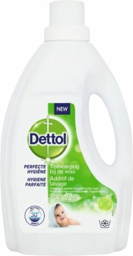 Dettol Perfecte Hygiëne Toevoeging bij de was Sensitive – 1.5 liter