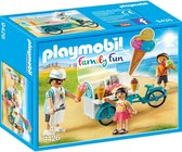 PLAYMOBIL Family Fun IJsjesverkoper - 9426