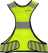 X-shape Running Vest - X-vorm hardloopvest - Jogging reflectie vest Veiligheidsvest - Safety Vest - Veiligheidshesje - Hardloop veiligheidsvest - Reflecterend - Maat L