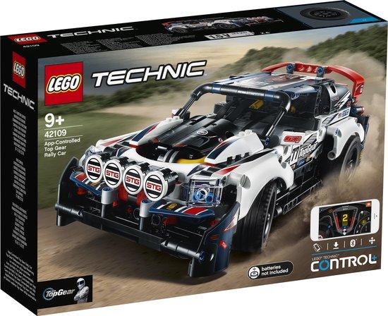 Afbeelding van LEGO Technic Top Gear Rallyauto met App-bediening - 42109 speelgoed