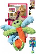 Kong Kat Kitty Fuzz Bugs - Speelmuis - 19 x 11 x 5 cm - Assorti