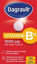 Dagravit Vitamine B12 1000 mcg Voedingssupplement - 100 smelttabletten