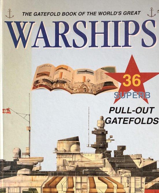 Gatefold book warships-blu - none |