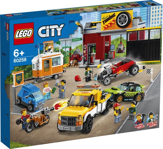 LEGO City Tuningworkshop - 60258