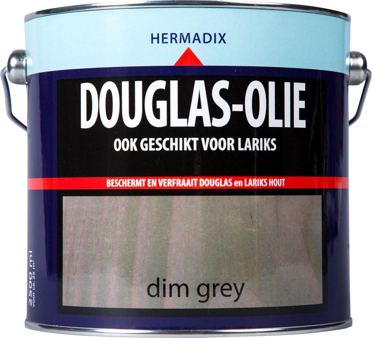 Hermadix Douglas Olie - Dim Grey - 2,5 liter