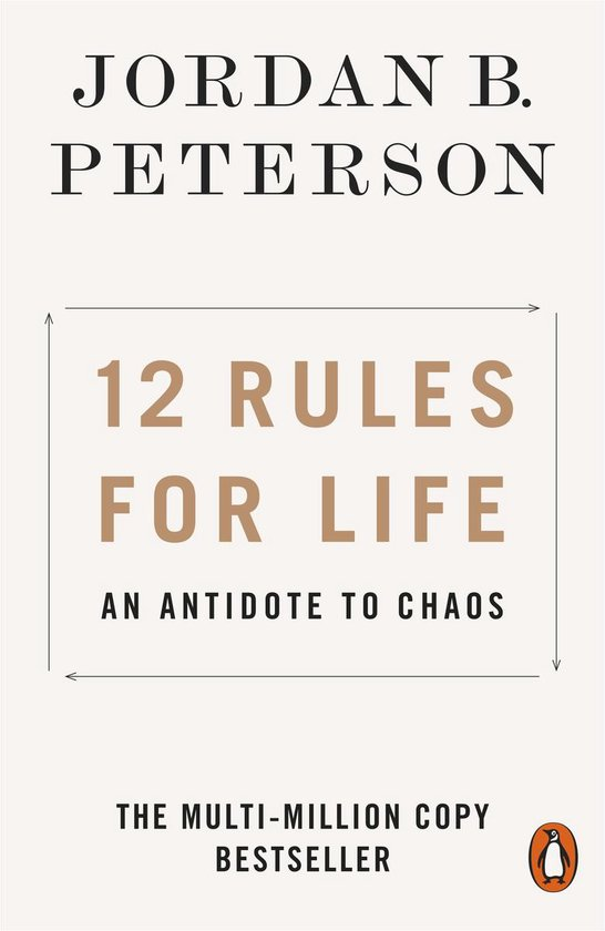 Boek cover 12 Rules for Life van Jordan B. Peterson (Paperback)