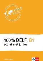 100% DELF scolaire et junior B1 livre de l'élève + audio-cd's(4)