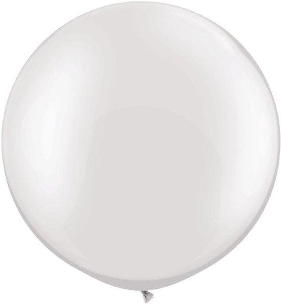 MEGA Topping ballon 61 cm Wit