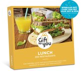 GiftForYou Cadeaubon - Lunch