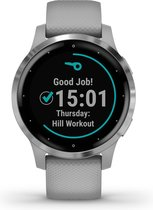 Garmin Vivoactive 4S - Health smartwatch - Powder gray