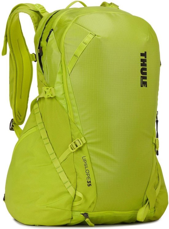 Thule Upslope 35L – Removable Airbag 3.0 ready - Lime Punsch