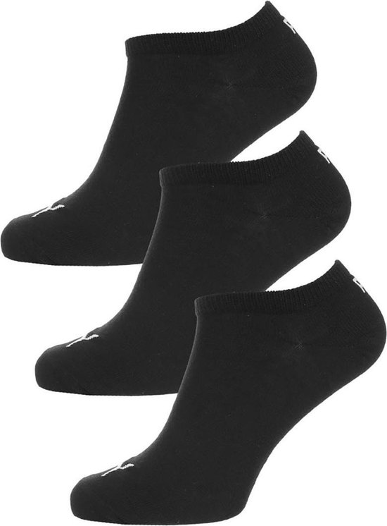 PUMA Sokken SNEAKER PLAIN 3Paar Unisex Maat 43-46 black