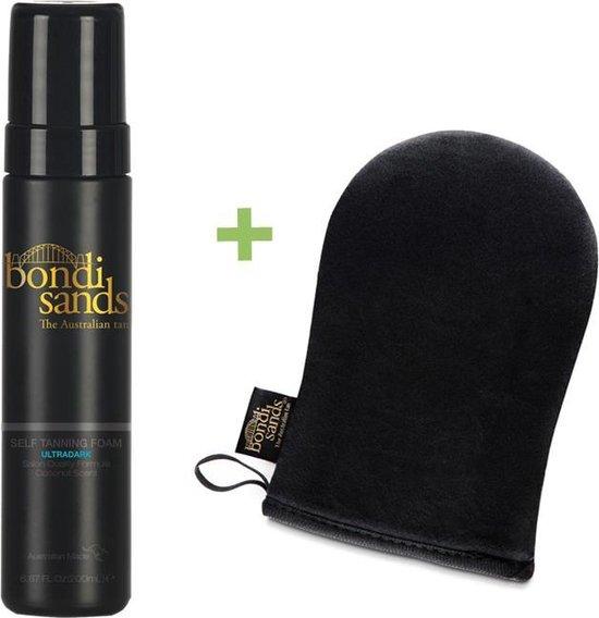 Bondi Sands Self Tanning Foam Ultra Dark & Application Mitt Promopakket