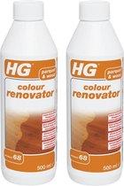 HG parket & Hout kleur vernieuwer (product 68) - 2 Stuks !