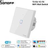 Smart WIFI Light Switch | Muur Licht Schakelaar | Sonoff | Werkt met : Google Assistant, Amazon Alexa , Google Nest | Android & IOS