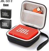 Afbeelding van Hard Cover Opberghoes Voor JBL Go 1/2 - Beschermhoes Travel Case Hoes Zwart