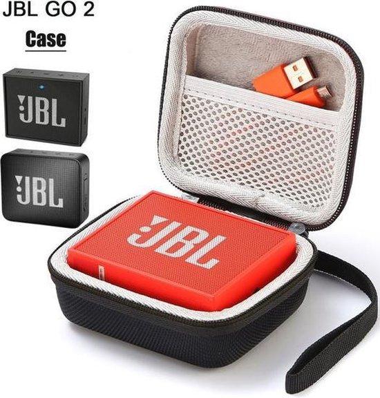 Afbeelding van Hard Cover Opberghoes Voor JBL Go 1/2 - Beschermhoes Travel Case Hoes Zwart | Gratis Verzending