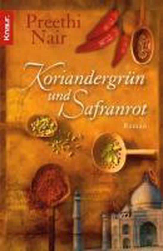Koriandergrün und Safranrot