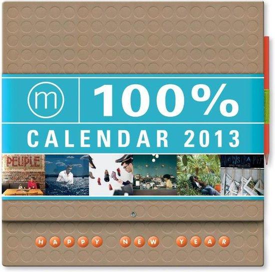 Cover van het boek '100% Calendar  / 2013 e'