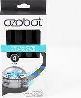 Ozobot Code Stiften - Uitwisbaar - 4 stuks - Zwart