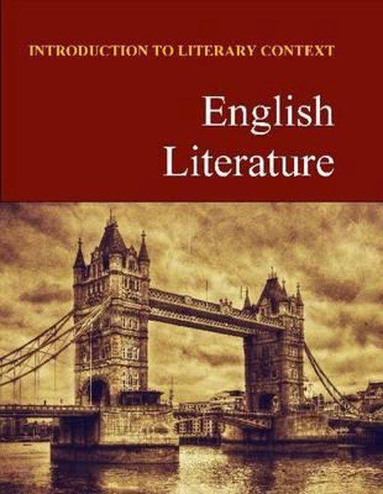 Boek cover English Literature van Salem Press