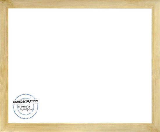 Homedecoration Misano – Fotolijst – Fotomaat – 63 x 80 cm  – Licht houtnerf