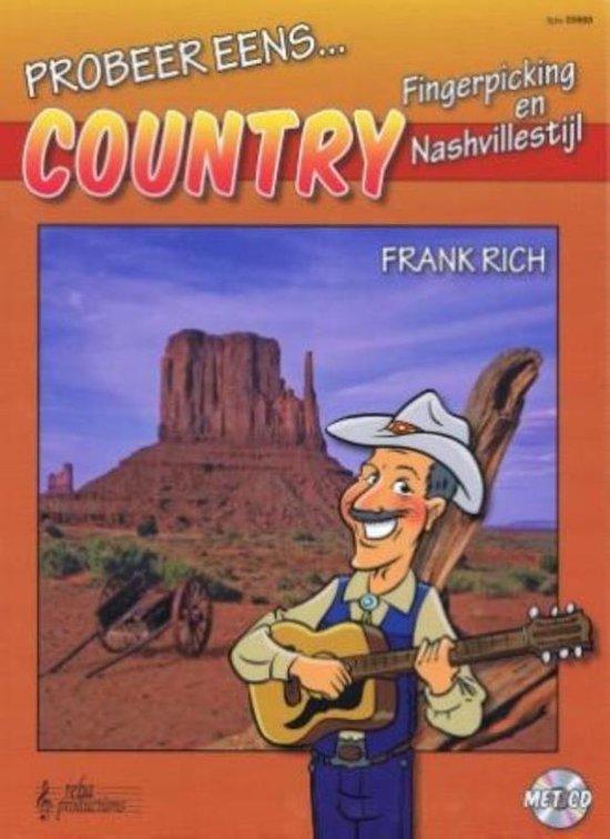 Probeer eens ... country gitaar - Frank Rich   Readingchampions.org.uk
