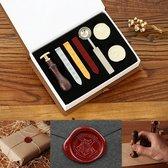 Dumbledore's Hogwarts Seal Stamp/Wax kit