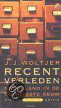 Boek cover Recent Verleden van J. Woltjer