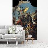 Fotobehang vinyl - The Triumph of Marius - Schilderij van Giovanni Battista Tiepolo breedte 115 cm x hoogte 200 cm - Foto print op behang (in 7 formaten beschikbaar)