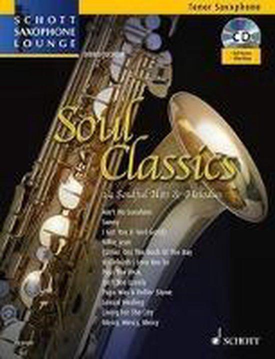 Soul Classics. Tenor-Saxophon. Ausgabe mit CD