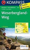 Kompass WK819 eserbergland-Weg