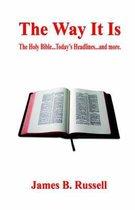 Boek cover The Way It Is van James B. Russell