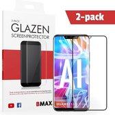 2-pack BMAX Huawei Mate 20 Lite Screenprotector Full Cover Glas | Dekt het volledige scherm! | Beschermglas | Tempered Glass