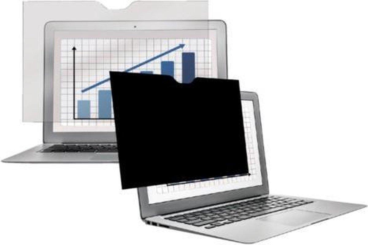 Fellowes privacy screenprotector voor Macbook Pro 13 inch retina, zwart