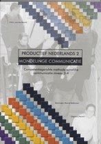 Boek cover Productief Nederlands / 2 Mondelinge Communicatie van H.M.J. van der Mersch